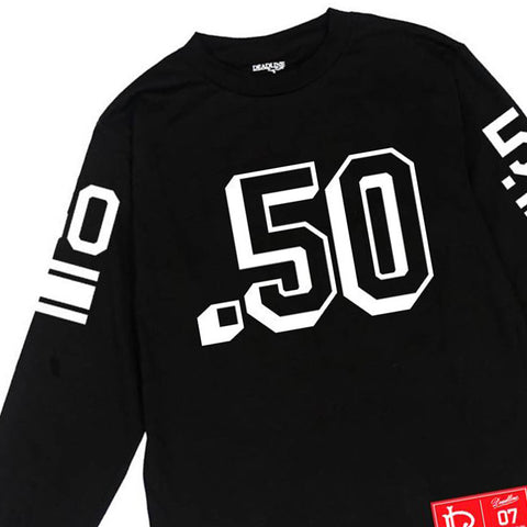 Deadline - '50 Cal' [(Black) Long Sleeve Shirt]