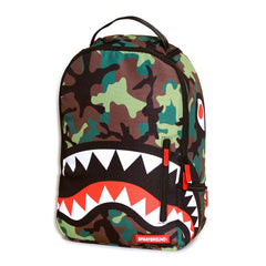 <!--2013010816-->Sprayground - 'Camo Shark' [(Camo Pattern) Backpack]