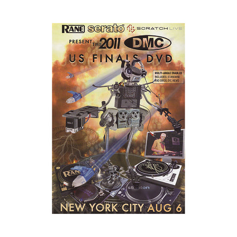 DMC World - '2011 US DJ Championship Finals' [DVD]