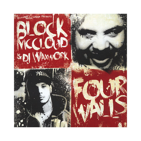 Block McCloud & DJ Waxwork - 'Four Walls' [CD]