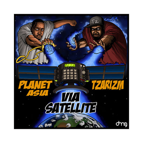 "[""Planet Asia & TzariZM - 'Via Satellite' [CD]""]"