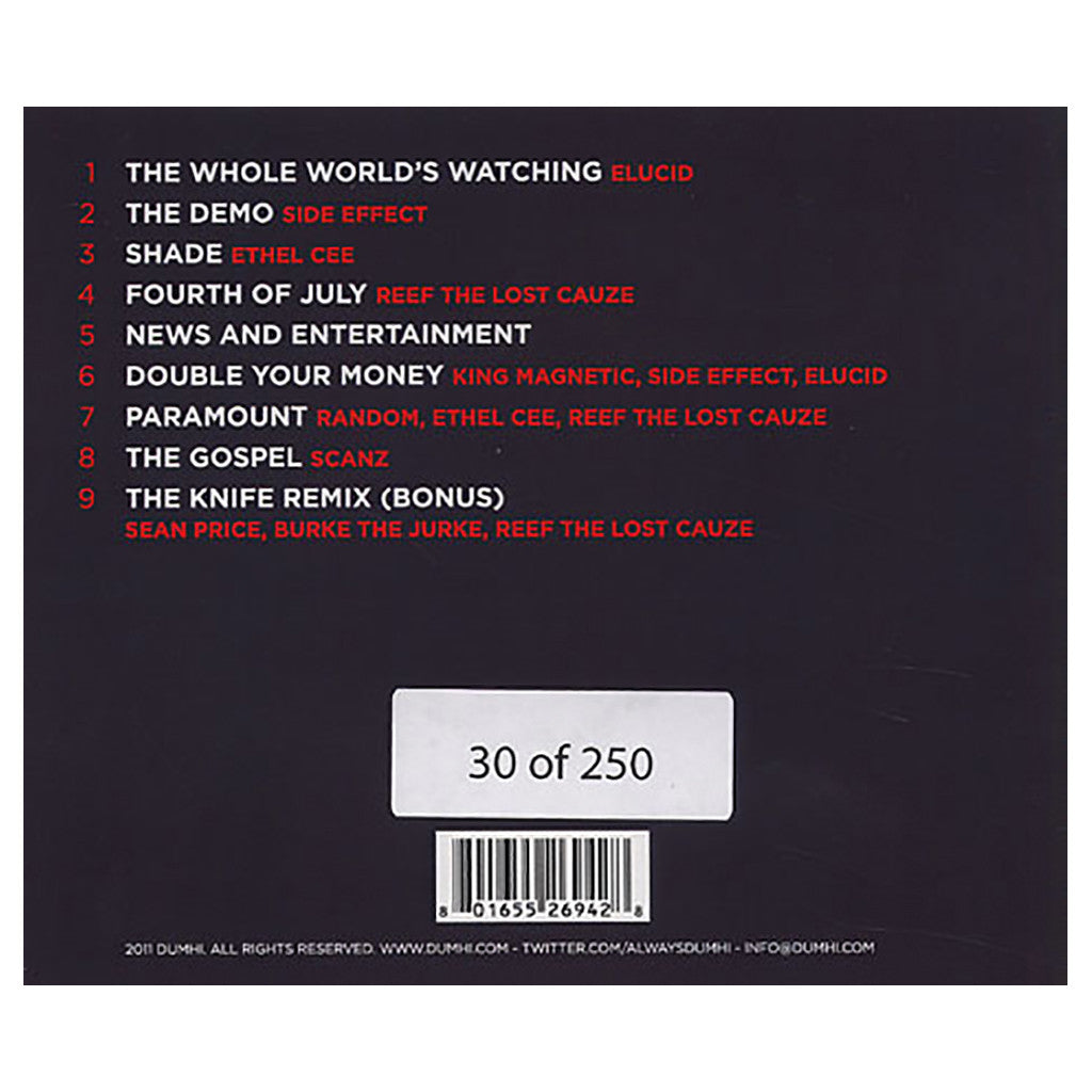 <!--020110329028662-->Dumhi - 'The Whole World's Watching' [CD]