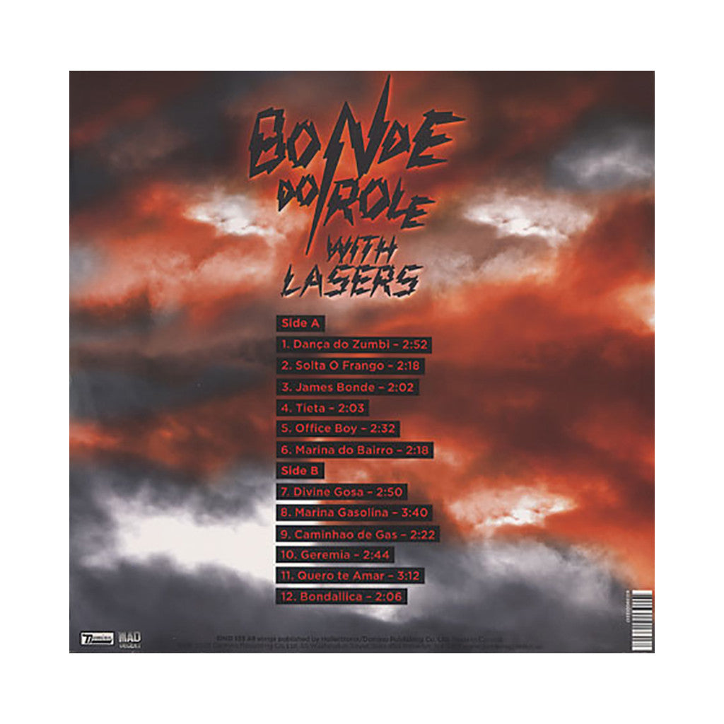 Bonde Do Role - 'With Lasers' [(Black) Vinyl LP]