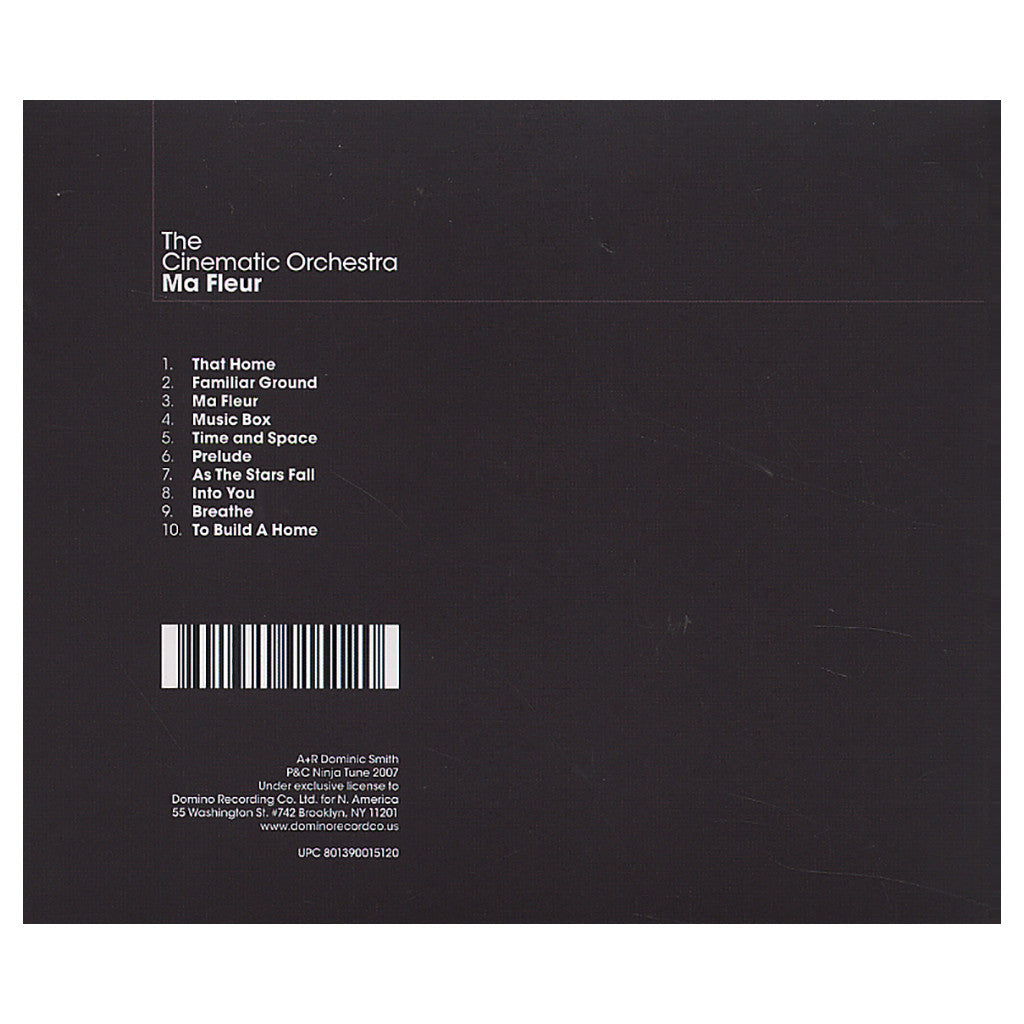 <!--020070605009520-->The Cinematic Orchestra - 'Ma Fleur' [CD]