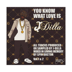 <!--020090101002965-->J Dilla (Mixed By: Spin Doctor) - 'You Know What Love Is Vol. 1 & 2' [CD [2CD]]