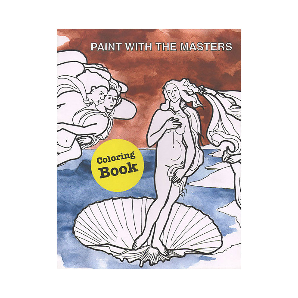 <!--020081104019570-->Lisa Holmqvist - 'Paint With The Masters Coloring Book' [Book]
