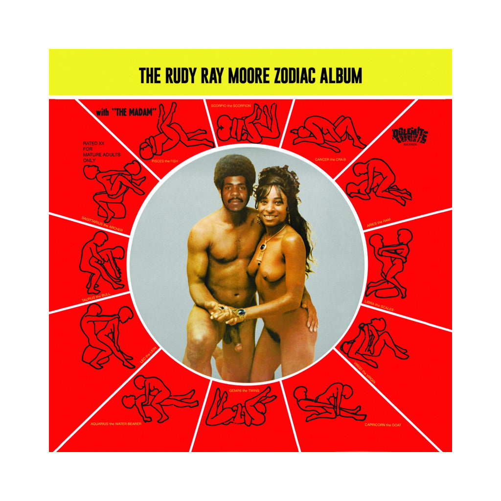 Rudy Ray Moore - 'The Rudy Ray Moore Zodiac Album' [CD]