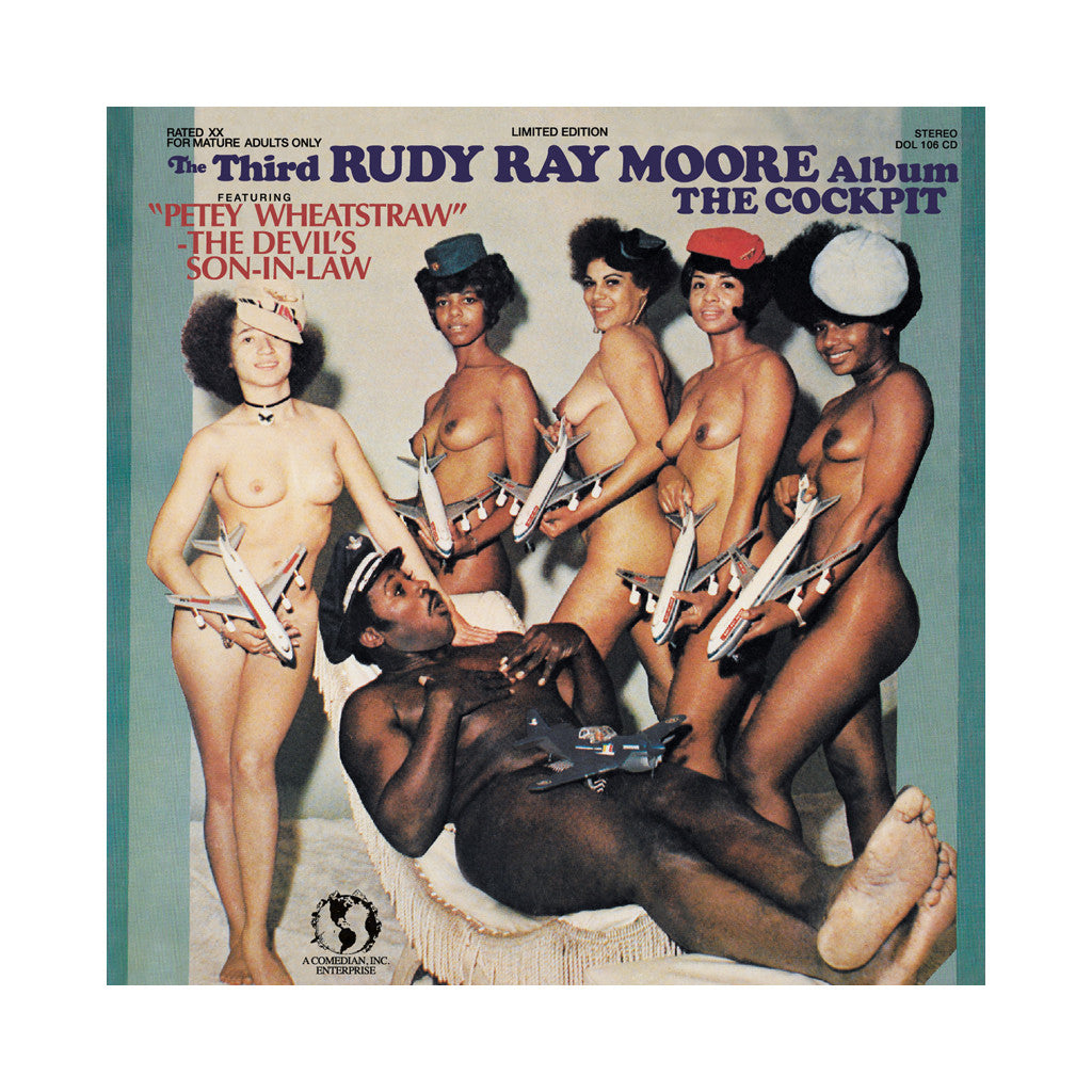 Rudy Ray Moore - 'The Cockpit' [CD]
