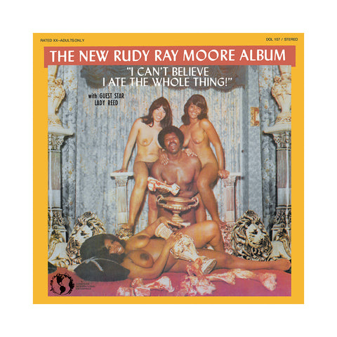 Rudy Ray Moore - 'I Can't Believe I Ate The Whole Thing' [CD]