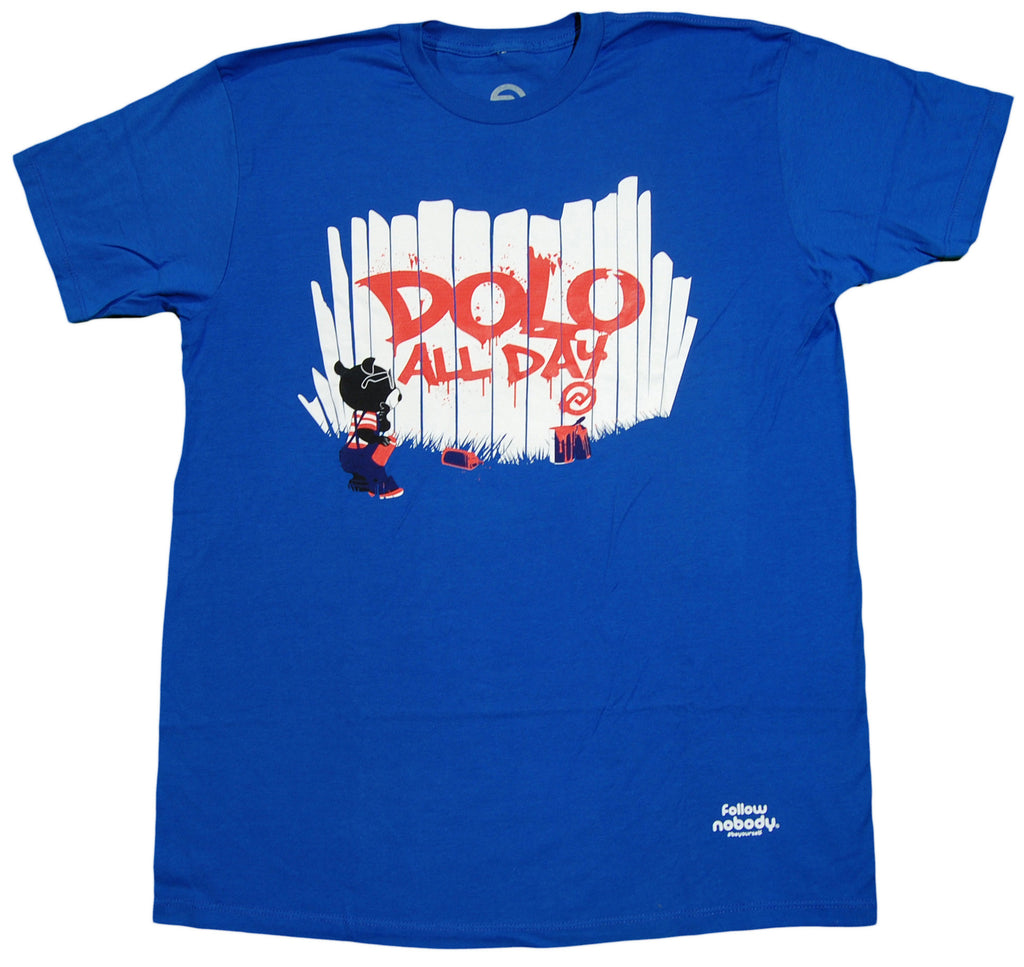<!--2013022650-->Dolo Clothing - 'Dolo All Day' [(Blue) T-Shirt]
