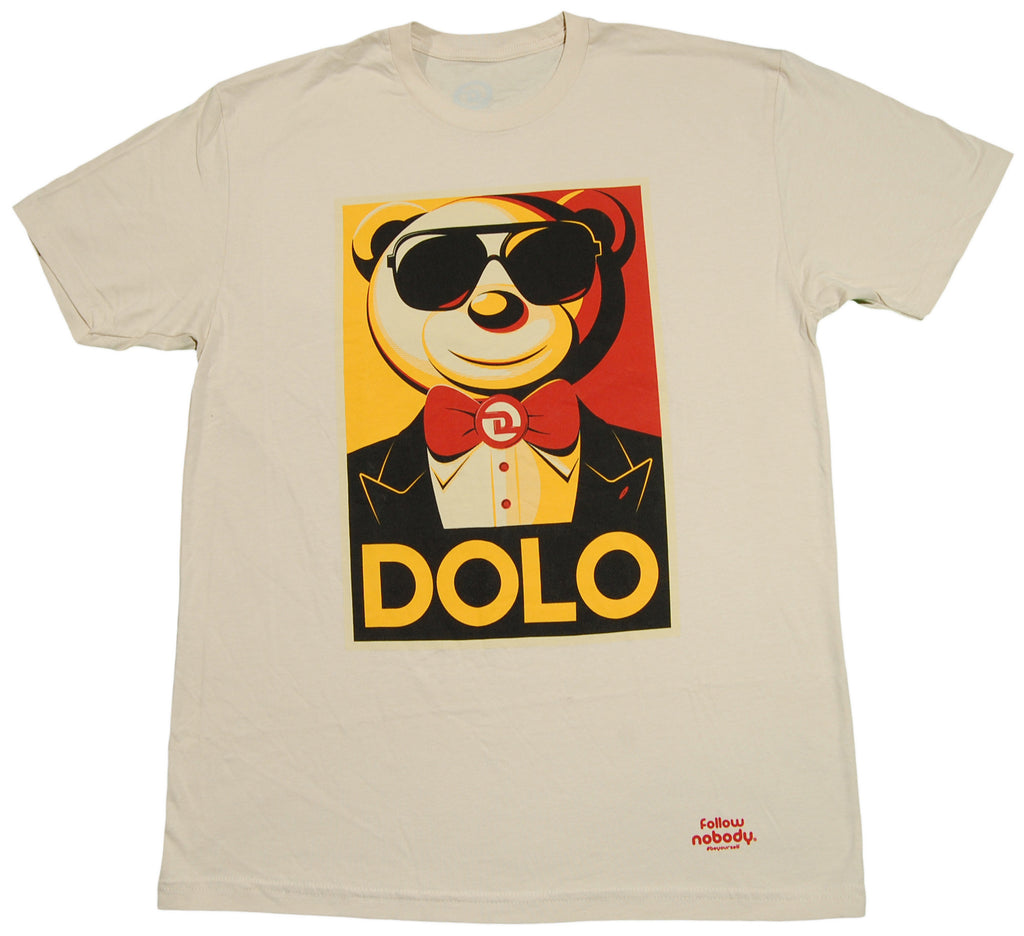 <!--2013022626-->Dolo Clothing - 'Dolo For President' [(Light Brown) T-Shirt]
