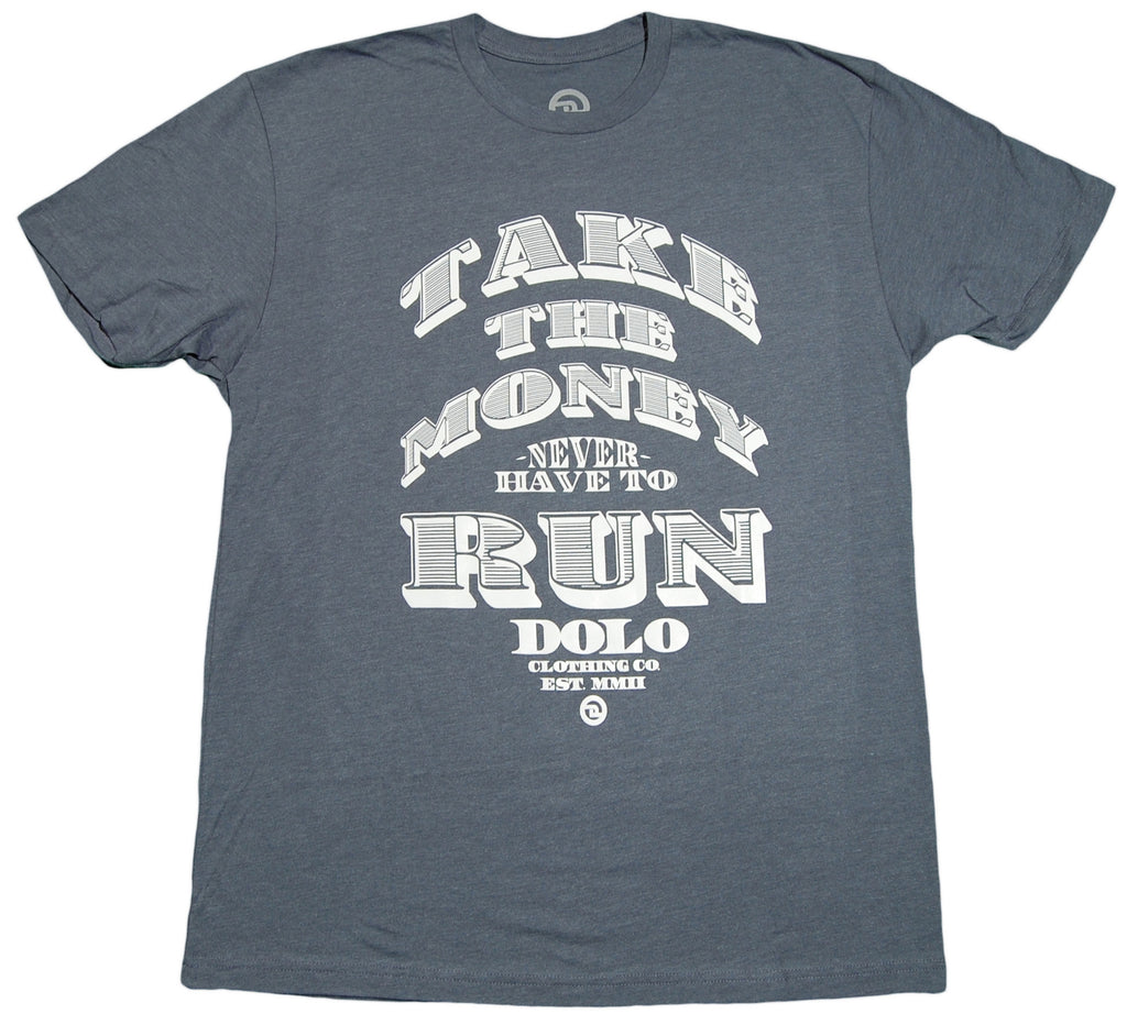 <!--2013022655-->Dolo Clothing - 'Take The Money' [(Dark Blue) T-Shirt]
