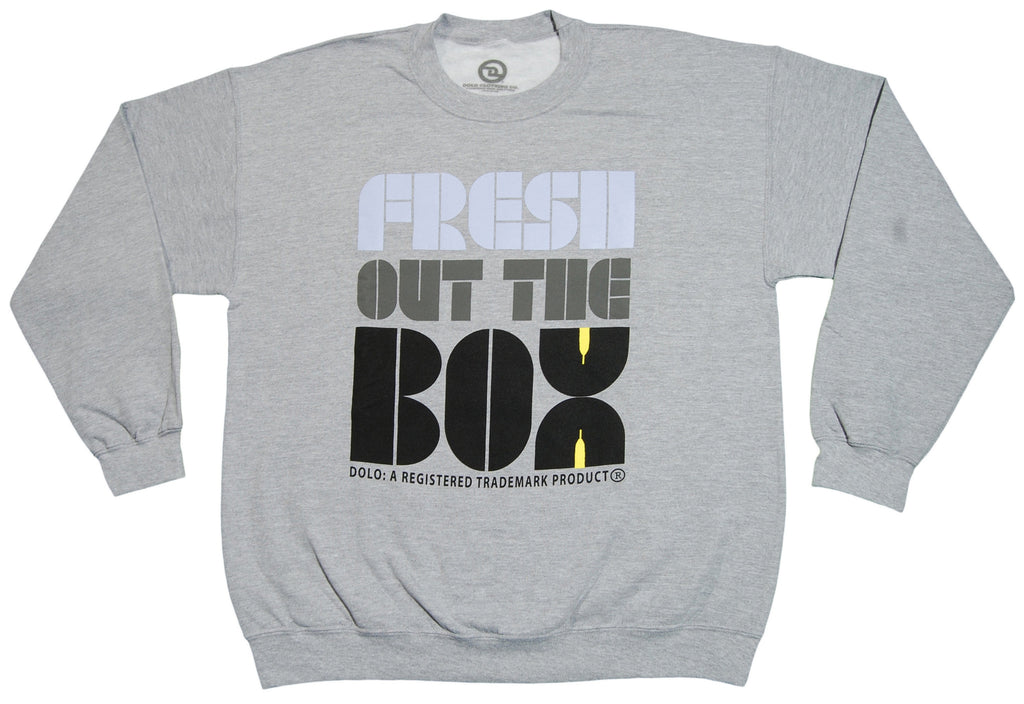 <!--2013022610-->Dolo Clothing - 'Fresh Out The Box' [(Gray) Crewneck Sweatshirt]