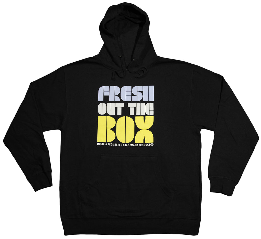 <!--2012101618-->Dolo Clothing - 'Fresh Out The Box' [(Black) Hooded Sweatshirt]