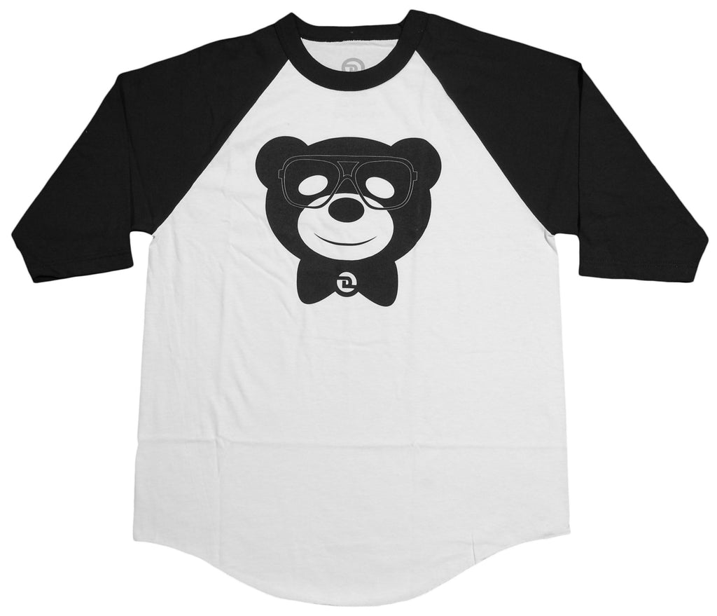 <!--2012101623-->Dolo Clothing - 'Harlem Bear - White /Black' [(White) T-Shirt]