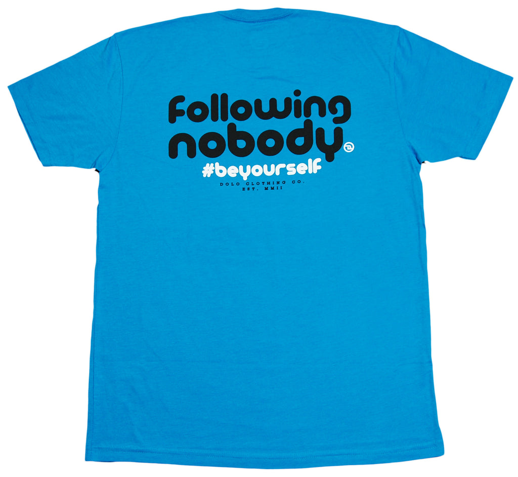 <!--2012050834-->Dolo Clothing - 'Following Nodody' [(Light Blue) T-Shirt]