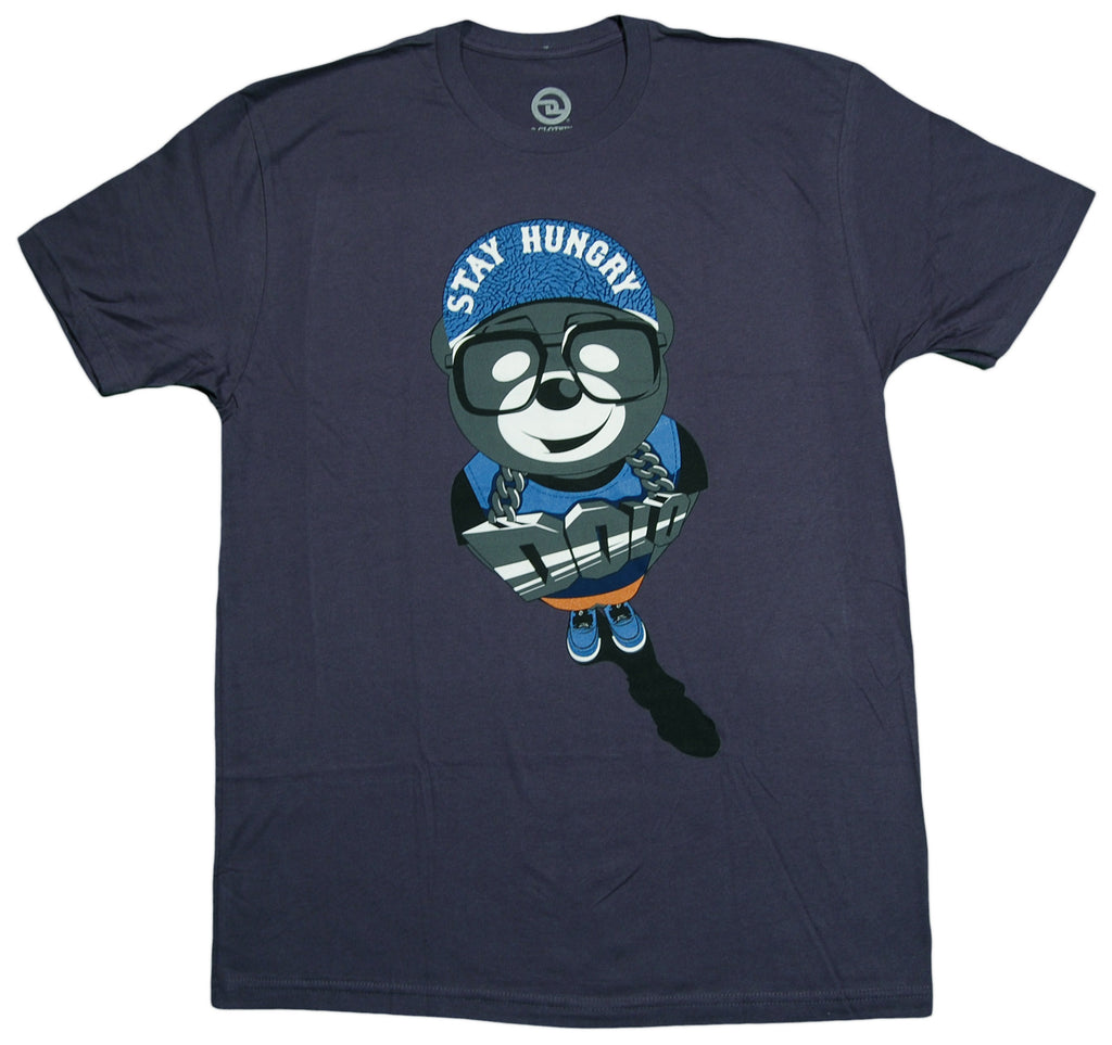 <!--2012101609-->Dolo Clothing - 'Stay Hungry' [(Dark Blue) T-Shirt]