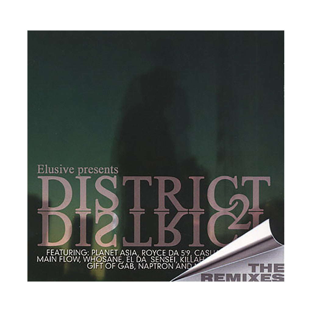 Elusive - 'District 2 District: The Remixes' [CD]