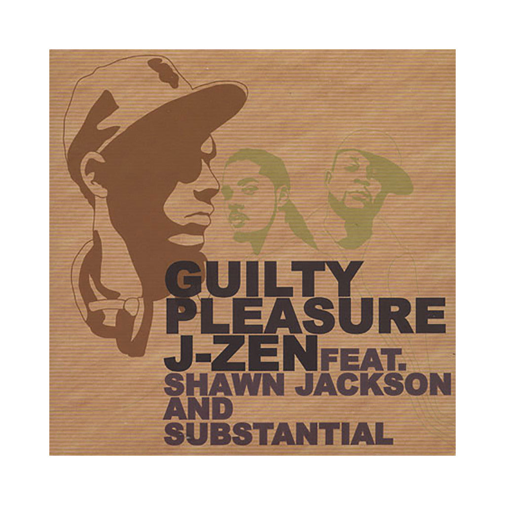 "J-Zen - 'Guilty Pleasure EP' [(Black) 7"" Vinyl Single]"