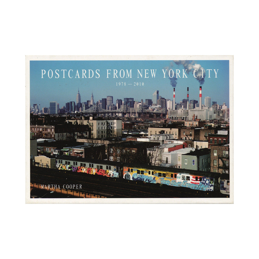 <!--020121015002279-->Martha Cooper - 'Postcards From New York City 1978-2010' [Postcard]