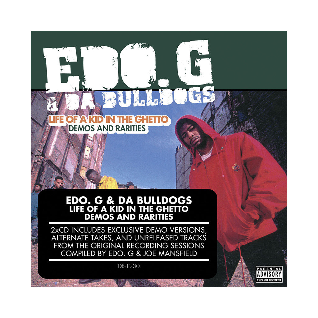 EDO.G - 'Life Of A Kid In The Ghetto: Demos & Rarites' [CD [2CD]]