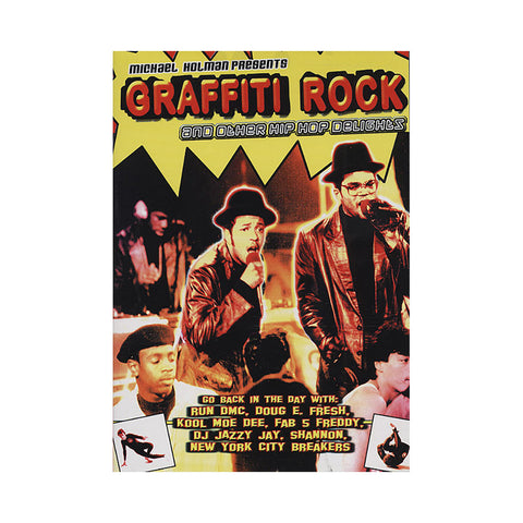 "[""Graffiti Rock - '1984 TV Show' [DVD]""]"