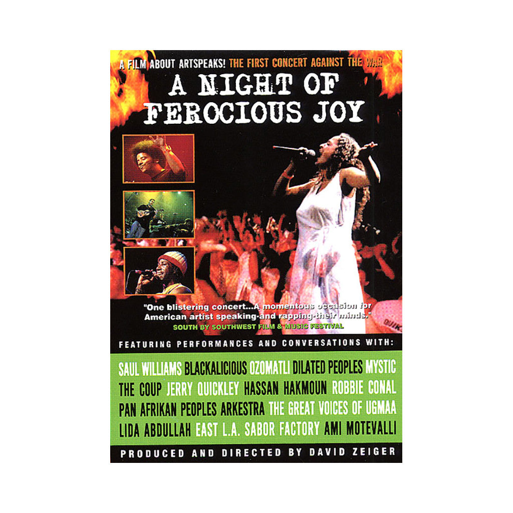 <!--020050927005893-->'A Night Of Ferocious Joy' [DVD]