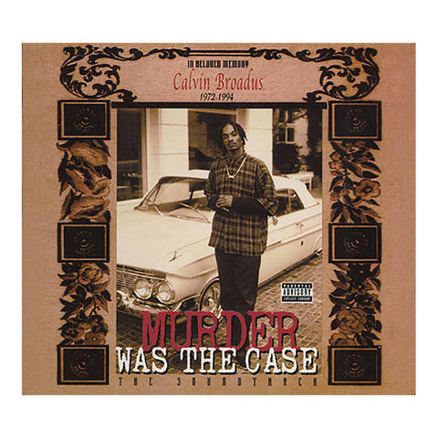 Various Artists - 'Murder Was The Case (Original Soundtrack)' [CD]