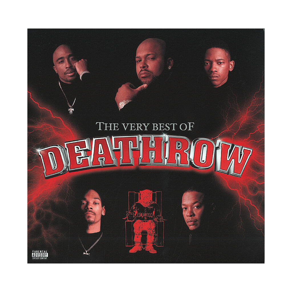 <!--120050222005150-->Various Artists - 'The Very Best Of Death Row' [(Black) Vinyl [2LP]]