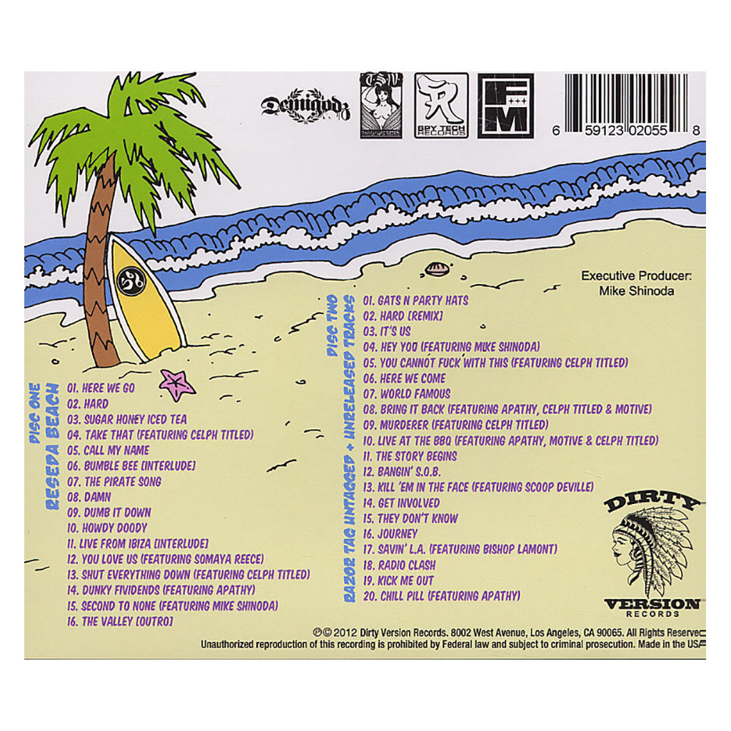 <!--020121023049861-->Styles Of Beyond - 'Reseda Beach' [CD [2CD]]