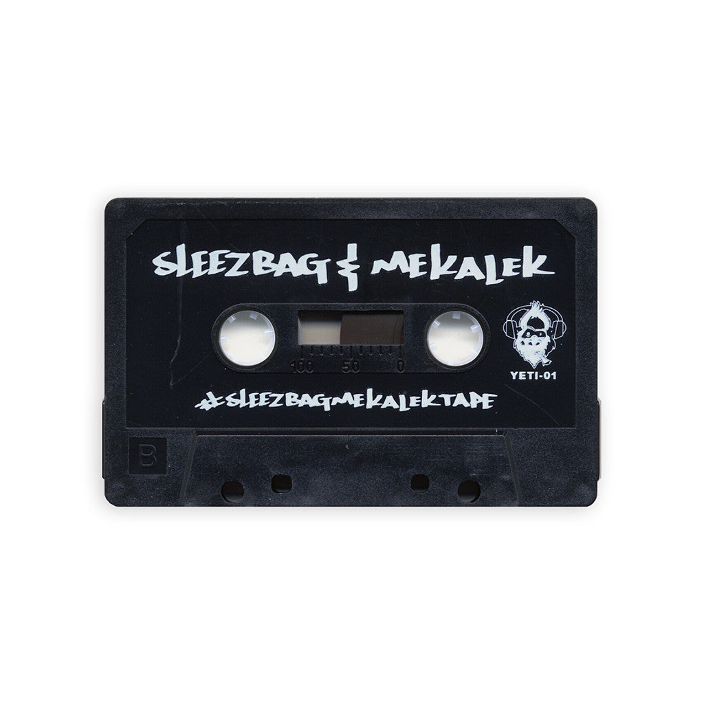 Sam The Sleezbag & DJ Mekalek - '#SleezbagMekalekTape' [(Black) Cassette Tape]