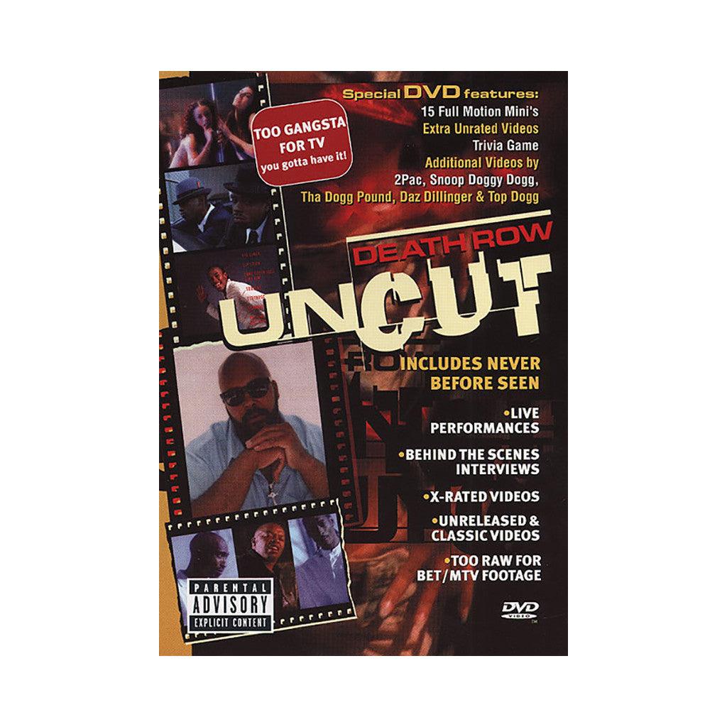<!--019000101004014-->Death Row Records - 'Uncut' [DVD]