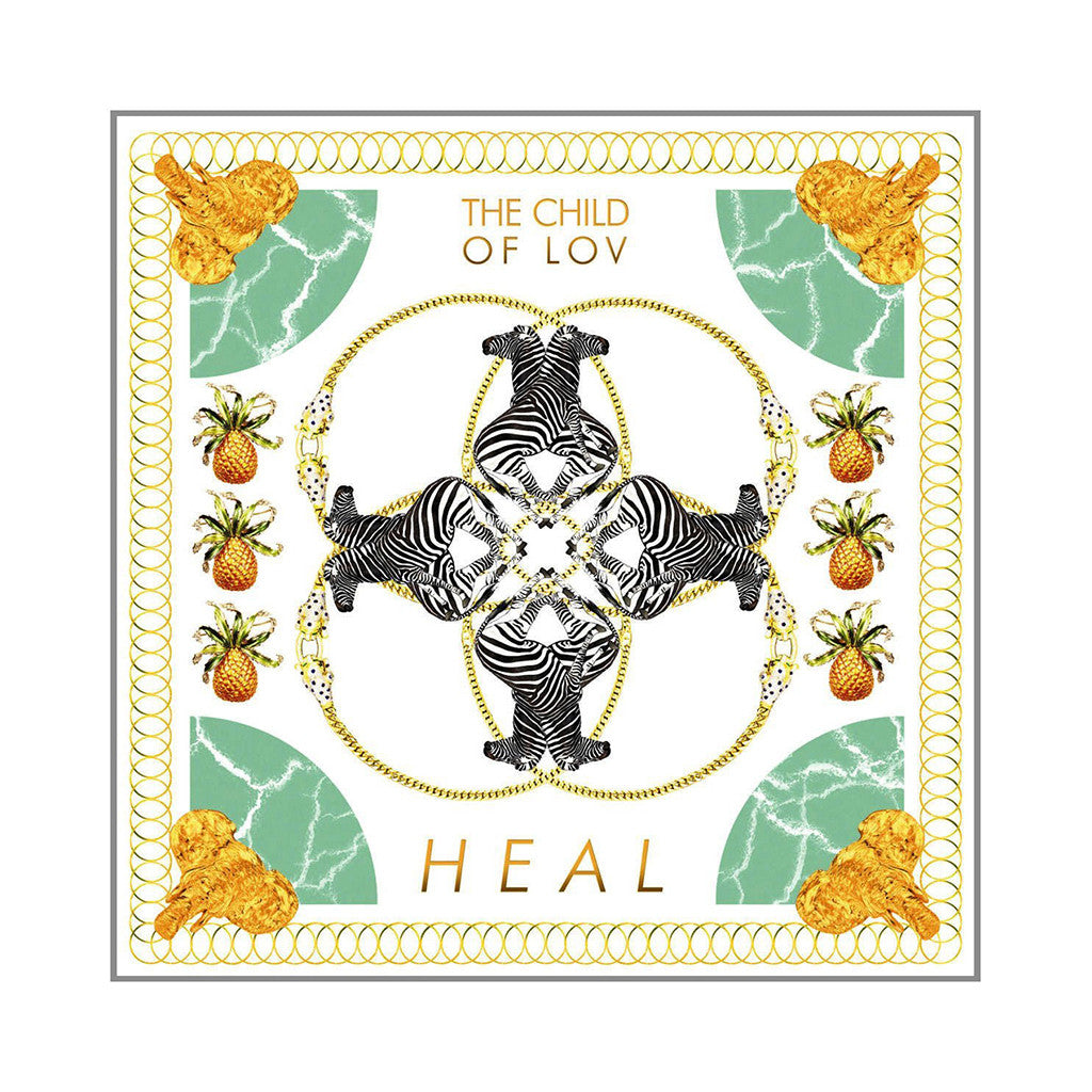 "<!--020121126000866-->The Child Of Lov - 'Heal/ One Mo'Gin' [(Black) 7"" Vinyl Single]"