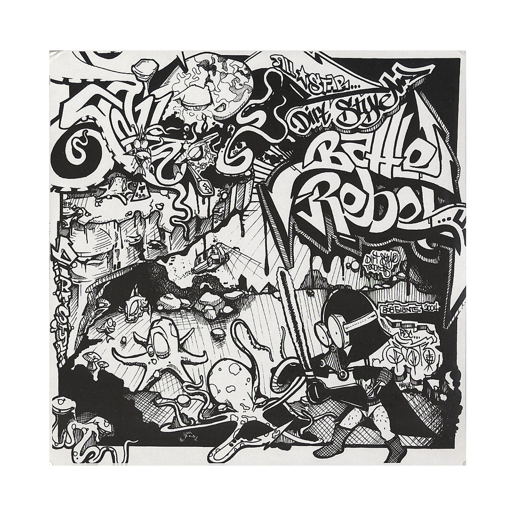 <!--020040101009234-->Darth Fader, Butchwax, Unknown Dirtstyler, Scratchy Seal - 'All Star Dirt Style Battle Rebels' [(Black) Vinyl LP]