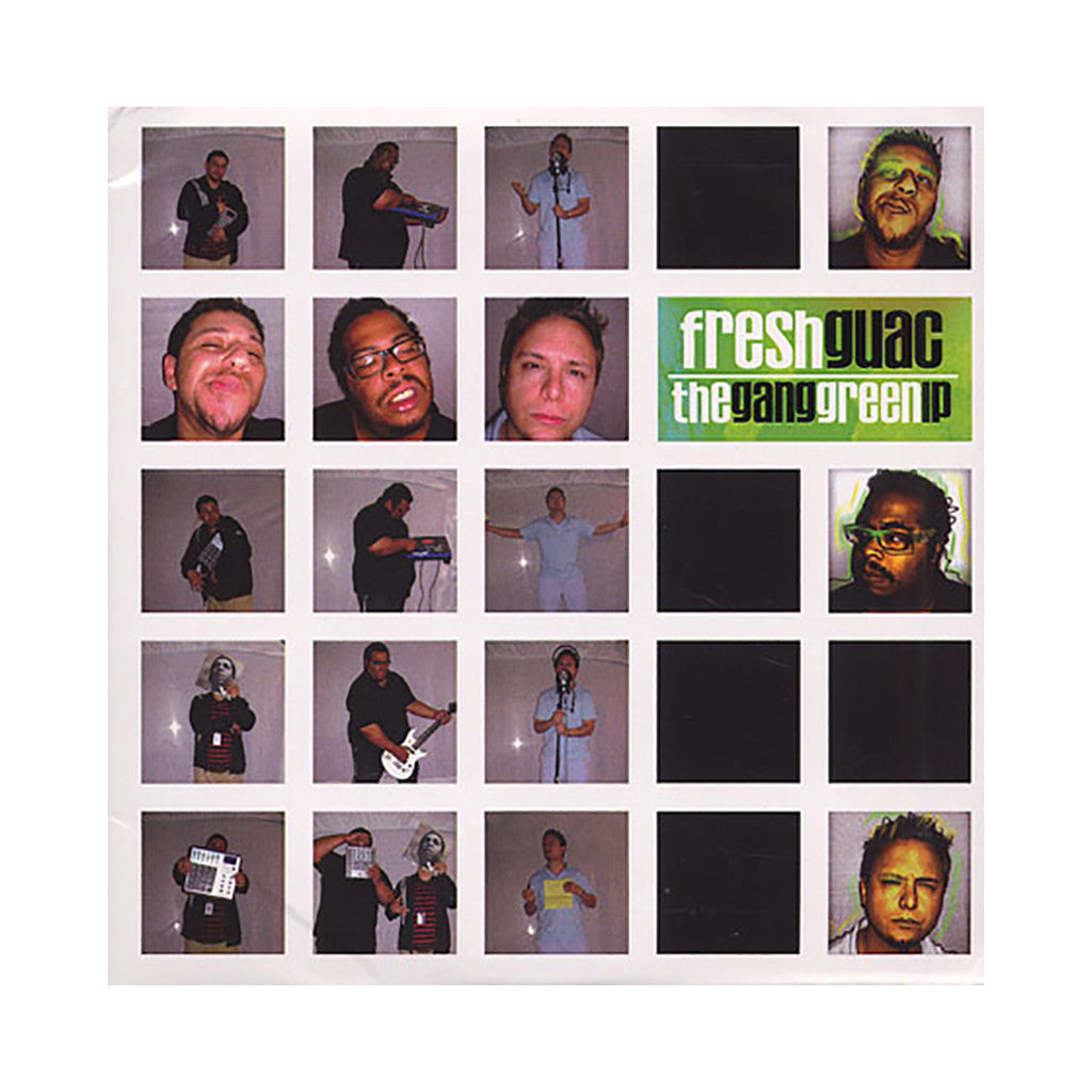 Fresh Guac - 'The Gang Green LP' [CD]