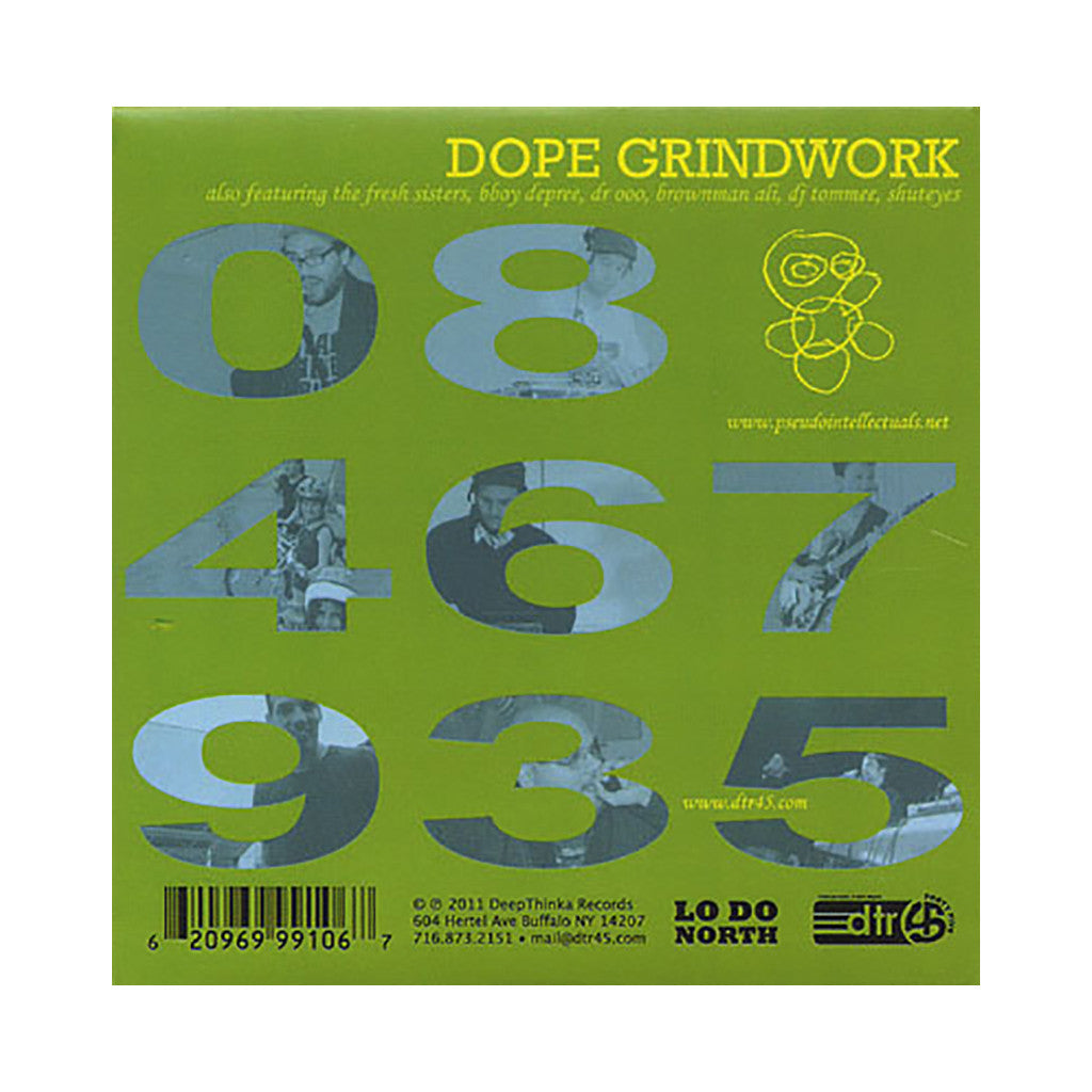 <!--020111108038512-->Pseudo Intellectuals - 'Dope Grindwork' [CD]