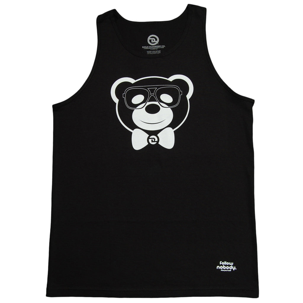 <!--2013041645-->Dolo Clothing - 'Harlem Bear' [(Black) Tank Top]