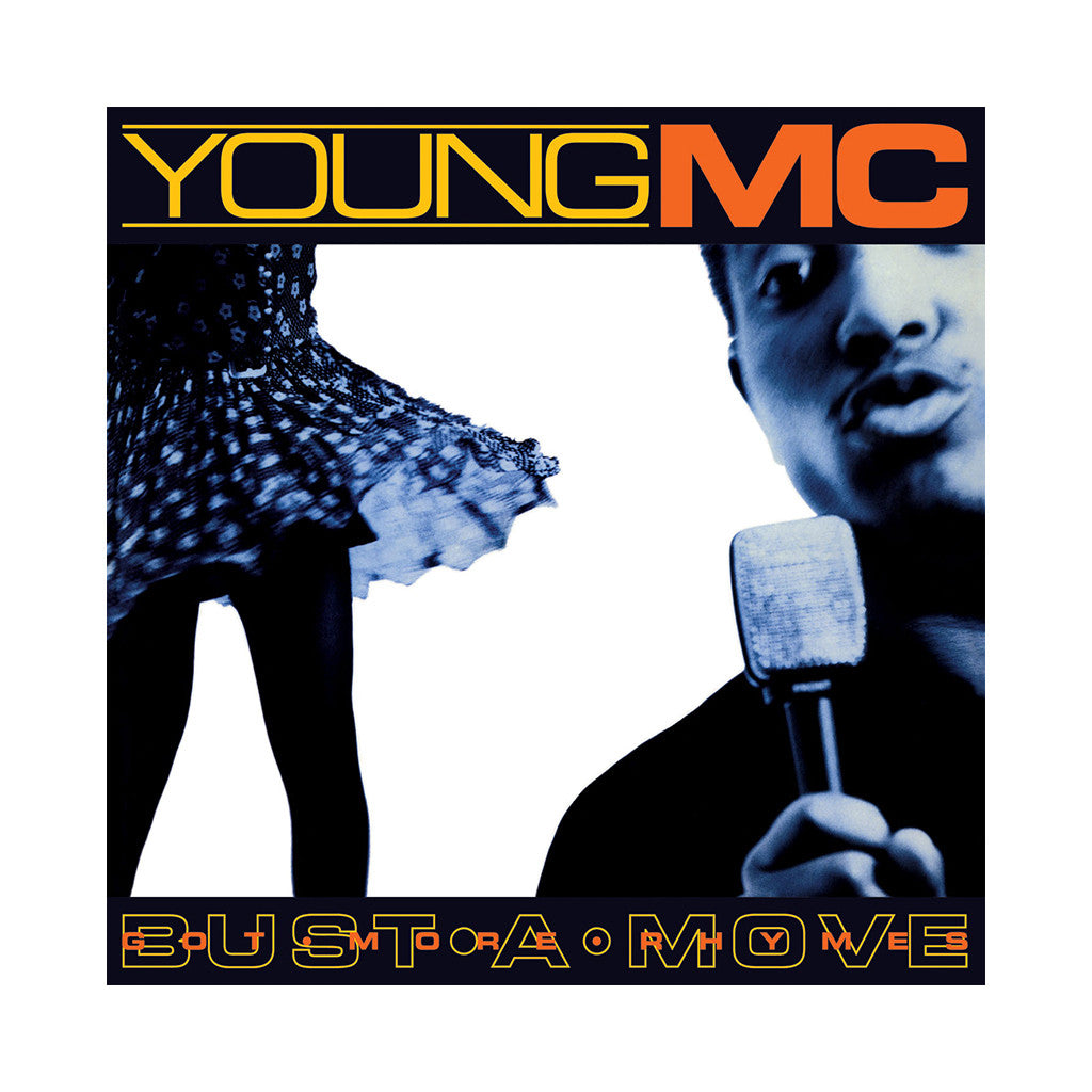 "<!--120071030010619-->Young MC - 'Bust A Move/ Got More Rhymes' [(Black) 12"""" Vinyl Single]"