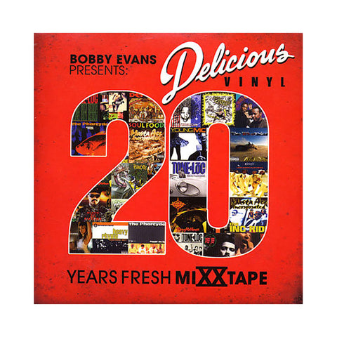 Various Artists (Mixed By: DJ Bobby Evans) - 'Delicious Vinyl: 20 Years Fresh' [CD]