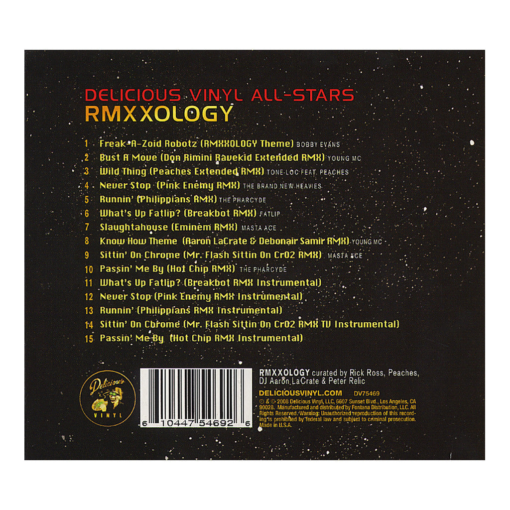 Delicious Vinyl All Stars - 'RMXXOLOGY' [CD]