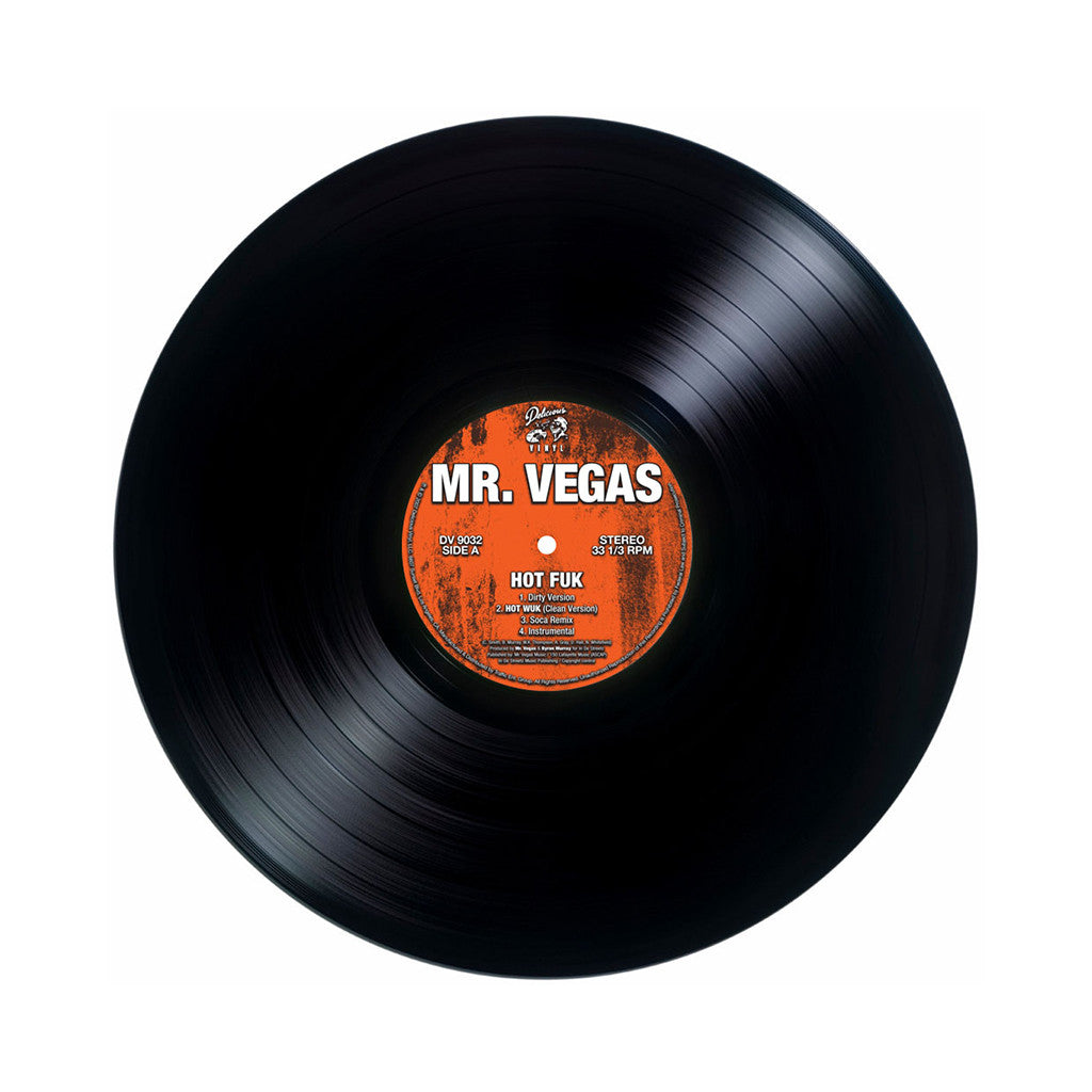 "<!--120070724010023-->Mr. Vegas - 'Hot Fuk/ Hot Fuk (Remix)/ Lean Wid It' [(Black) 12"" Vinyl Single]"