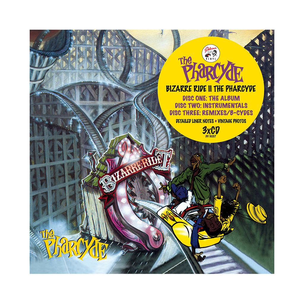 <!--2012071013-->The Pharcyde - 'Bizarre Ride II The Pharcyde (Expanded Edition)' [CD [3CD]]