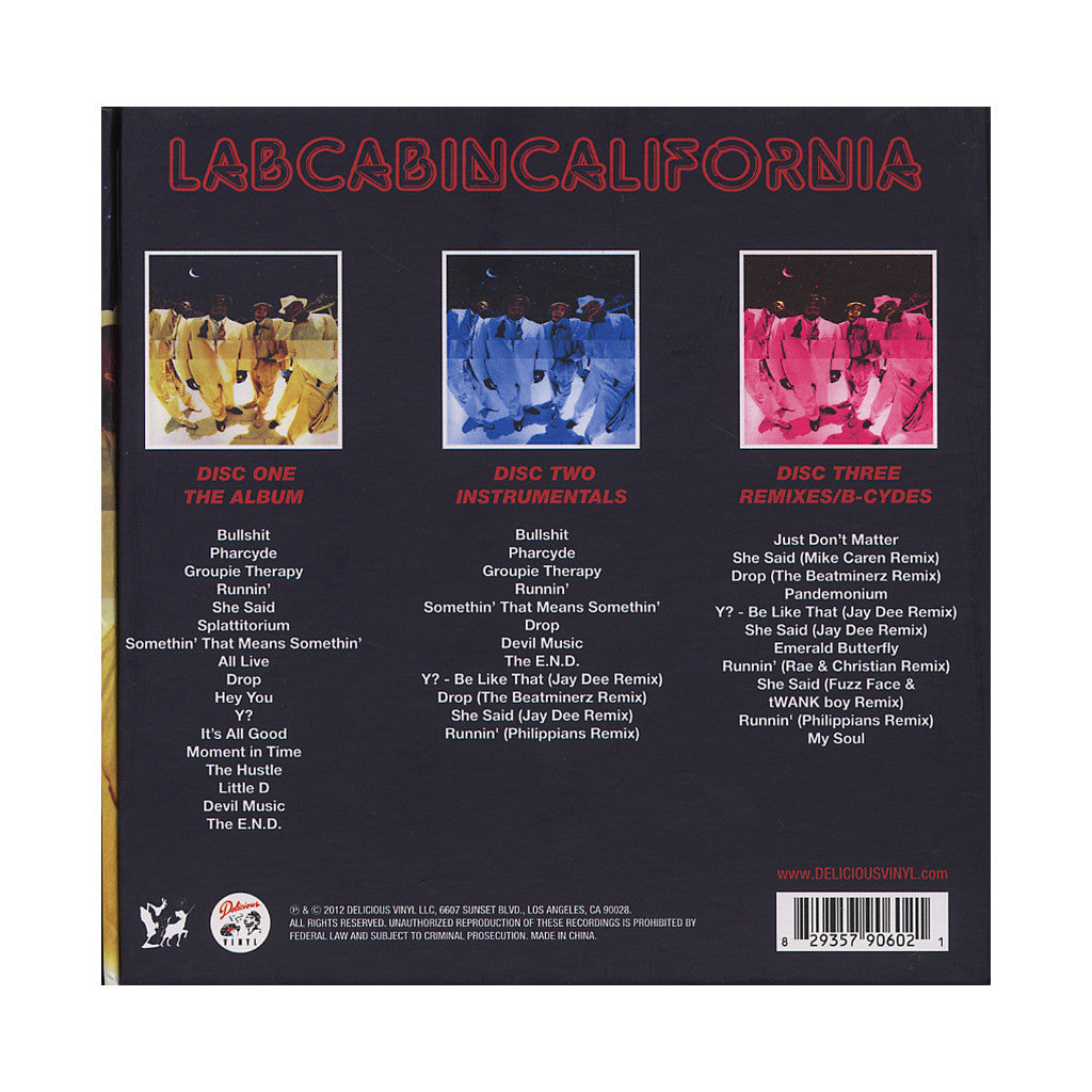 <!--2012080751-->The Pharcyde - 'Labcabincalifornia (Expanded Edition)' [CD [3CD]]
