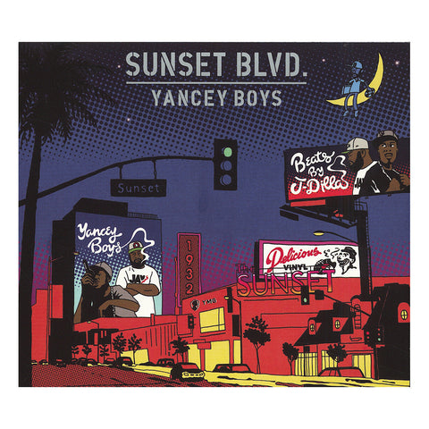 "[""Yancey Boys w/ J Dilla - 'Sunset Blvd.' [CD [2CD]]""]"