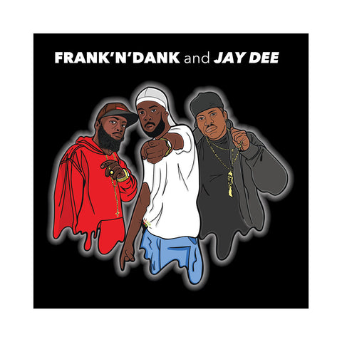 "[""Frank-N-Dank & Jay Dee - 'The Jay Dee Tapes' [(Red) 12\"" Vinyl Single]""]"