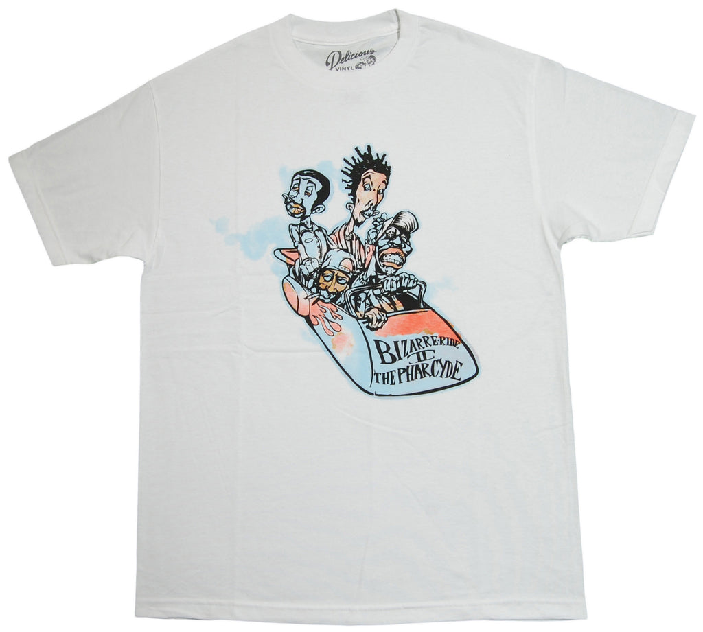 <!--2013090312-->The Pharcyde - 'Bizarre Ride Cartoon' [(White) T-Shirt]