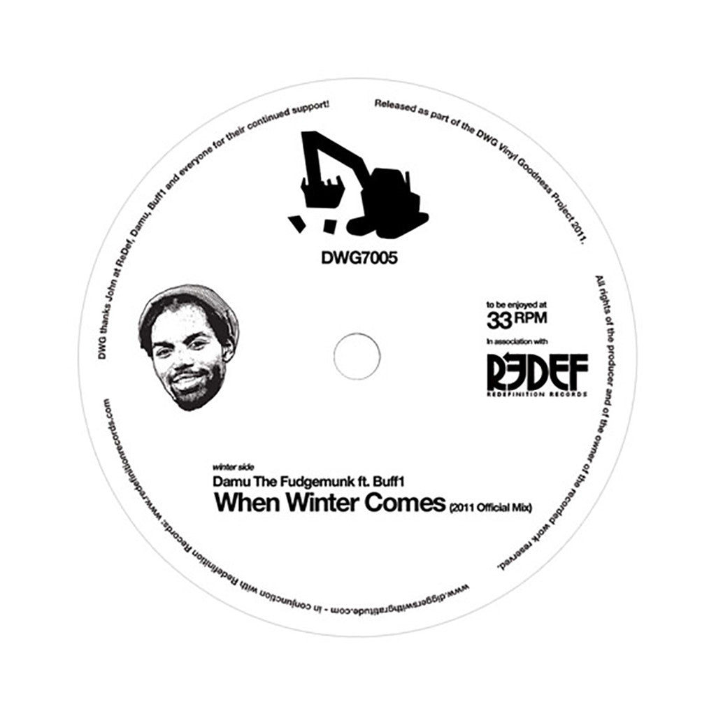 <!--2011050204-->Damu The Fudgemunk - 'When Winter Comes (2011 Official Mix)' [Streaming Audio]