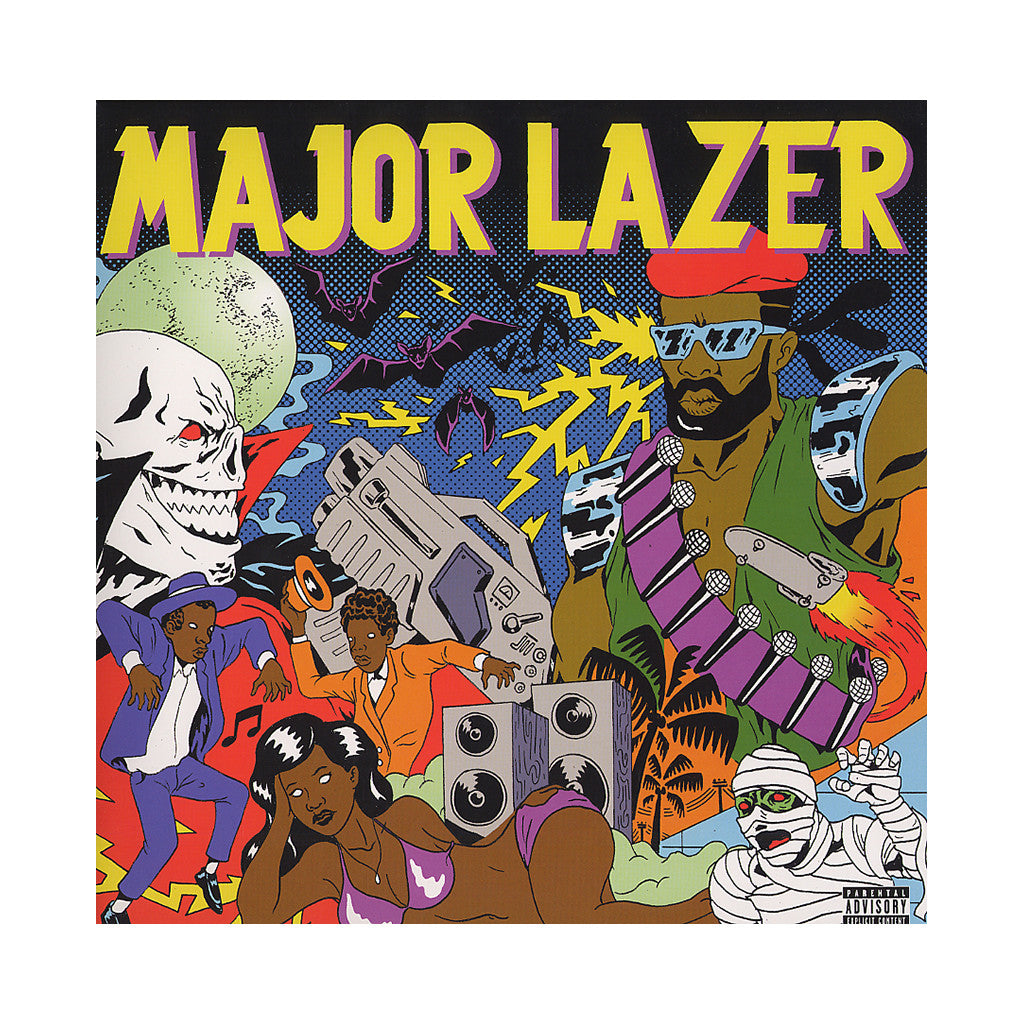 <!--2009062342-->Major Lazer - 'Guns Don't Kill People...Lazers Do' [(Black) Vinyl [2LP]]