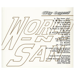 <!--120170519073653-->World-N-San - 'City Legend (THIS IS A RE-STOCK)' [CD]