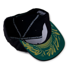 <!--020141118067620-->Dissizit! x Cryptik - 'Callig Cryptik' [(Black) Snap Back Hat]